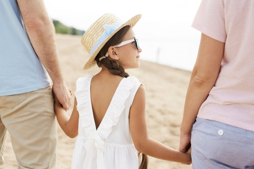 Walk with parents