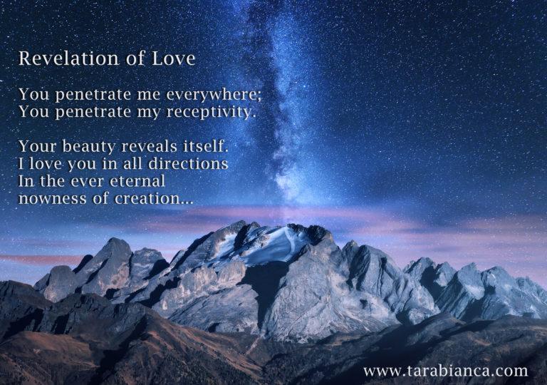 Revelation of Love