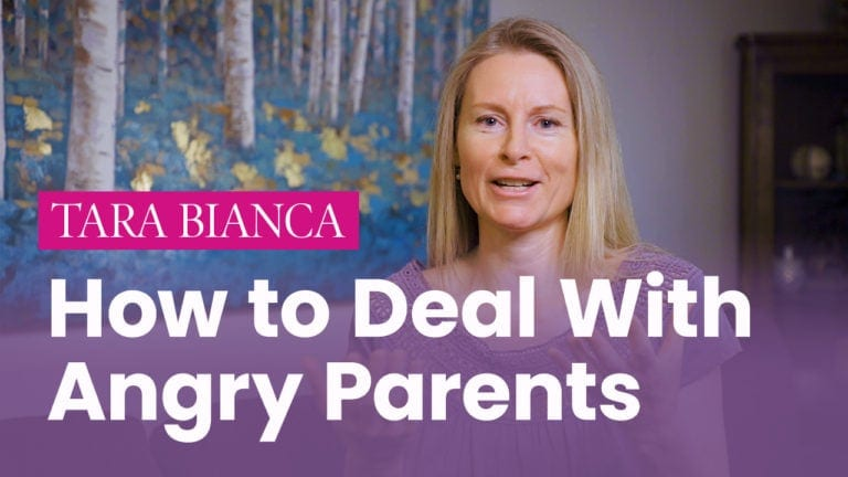 How to Deal with Angry Parents